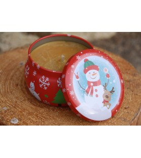 Bougie de Noël sapin de Noël